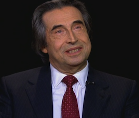 Riccardo Muti interviewed by Charlie Rose