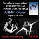 5th Salkind International Piano Duo Festival - Salon Series 1