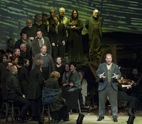Tenor Stuart Skelton (right) as Peter Grimes<br>Photo by Stefan Cohen