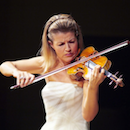 Violinist Anne-Sophie Mutter: Huge, Humble Star