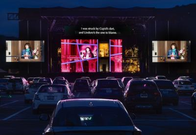 "SF Opera's drive-in ""Barber of Seville"""