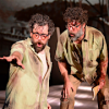 "Andrew Wilkowske and Lee Gregory in Long Beach Opera's ""The Invention of Morel"""