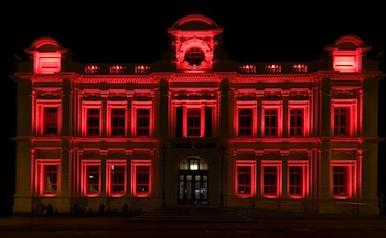 Oamaru Opera House <br> Photo by Mark Herring Lighting