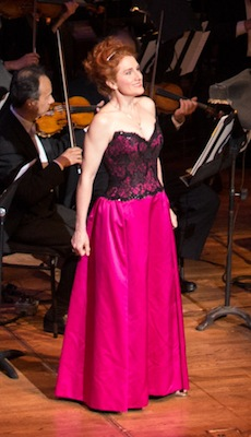 Soprano Laura Claycomb <br>Photo by Kristen Loken