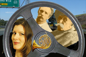 Freeway Philharmonic veteran Meredith Brown<br>plays Father-and-son Horn Concerto