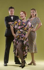 Sean Thompson and Allison Rich, with brash American Anna Murphy (Halsey Varady) in center