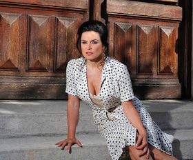 "Anna Caterina Antonacci will sing the ""Sophia Loren role"" in <em>Two Women</em> Photo by Cory Weaver"