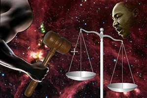 """The arm of the moral universe … bends toward justice."""