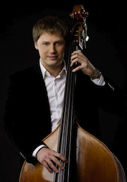 Artem Chirkov, visiting double bass virtuoso