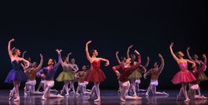 Ballet San Jose in <em>Bruch Violin Concerto</em> Photo by Robert Shomler