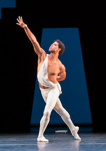 Carlos Acosta in <em>Apollo</em> Photo by Johan Persson