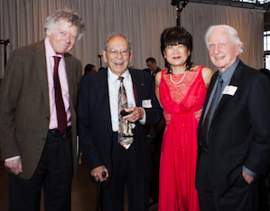 Gordon Getty, Robert Commanday, Doris Fukawa, and Stuart Canin at the Crowden gala Photo by Andreas Guther