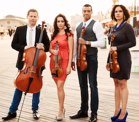 The Sphinx Virtuosi also appear on the Young Artists series