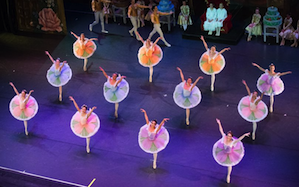 The new company is seen in <em>Nutcracker</em>'s Dance of the Flowers Photo by SOSKI