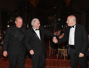 David Gockley, Carlisle Floyd and Patrick Summers at the Moores School gala Photo by Kim Coffman