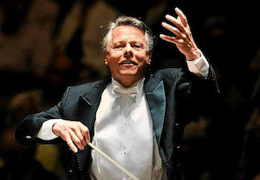 Mariss Jansons in action four days ago Photo by Anne Dokter/<em>Sydney Morning Herald</em>