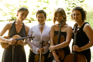 Real Vocal String Quartet Photo by Lenny Gonzalez
