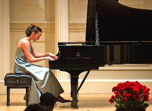 LA International Liszt Competition winner Asana Onishi will perform at the closing concert