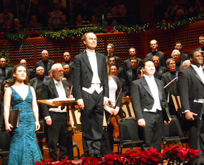 With Bohlin on the podium, <em>Messiah</em> forces take a well-deserved bow