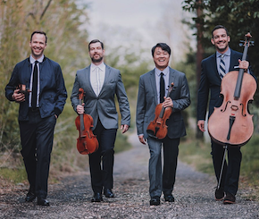 Miró Quartet in Redwood City, Burlingame