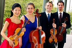 The Jasper Quartet opens SFSU's Morrison Artists Series