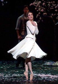 S.F. Ballet Sugar Plum Fairy Simone Messmer in ABT's <em>On the Dnieper</em> Photo by Rosalie O'Connor