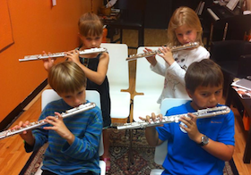 Orioles Flute Choir Photo by Gala Yaroshevsky