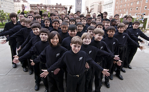 Members of the Pacific Boychoir will join the Venezuelans in performance Photo by Eric Politzer