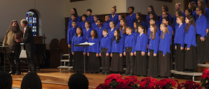 Piedmont East Bay Children's Choir in action Photos by Don Fogg