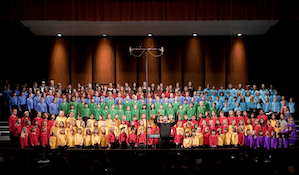 Piedmont Choirs Photo by Don Fogg