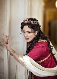 Patrica Racette as Tosca in the Washington National Opera production Photo by Scott Suchman