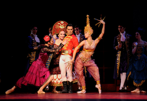 Scene from Christopher Wheeldon's Cinderella
