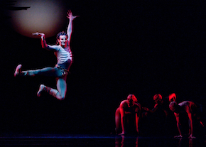 Pascal Molat in Yuri Possokhov's <em>Firebird</em> to the Stravinsky score Photos by Erik Tomasson