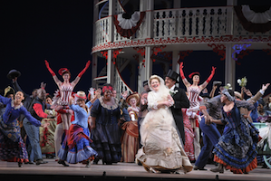 You too could be cavorting on <em>Show Boat</em> Photo by Dan Rest/Lyric Opera of Chicago