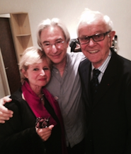 MTT with Henri-Louis de la Grange and Marina Mahler, granddaughter of the composer