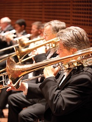 Among the SFS brass virtuosi
