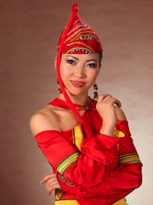 Norovbanzad Byambasuren is a dancer with the Mongolian State Opera and Ballet
