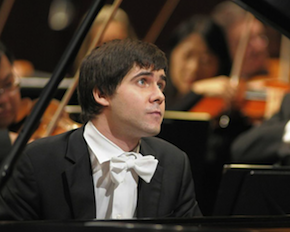 Vadym Kholodenko in a concerto performance Photo by Ellen Appel-Mike Moreland