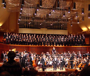 <em>War Requiem</em>'s assembled forces: not an inch to spare Photos by Michael Strickland