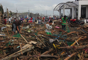 In the wake of Haiyan/Yolanda