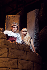 "Johnny Moreno and Monique Hafen are King Arthur and his ""Jenny"" Photos by Jessica Palopoli"