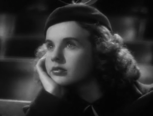 Durbin in the 1937 <em>100 Men and a Girl</em>: she plays a heroine who starts an orchestra of unemployed musicians