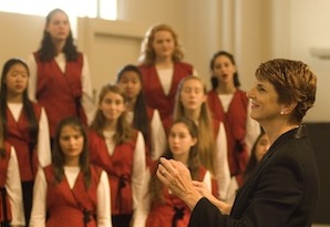 The S.F. Girls Chorus and Susan McMane