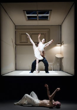 Company members of Nederlands Dans Theater perform Sehnsucht