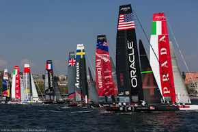 Masts America's cup