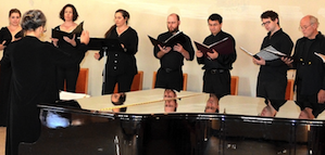 Members of the S.F. Choral Artists