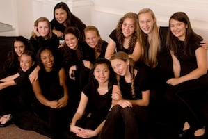Members of the S.F. Girls Chorus
