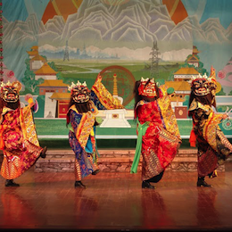 The Tibetan Opera, Dance and Music Troupe of Qinghai