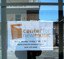 Center for New Music Photos by Michael Strickland