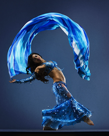 Dancer/choreographer Shabnam fuses traditional and contemporary belly dance Photos by RJ Muna